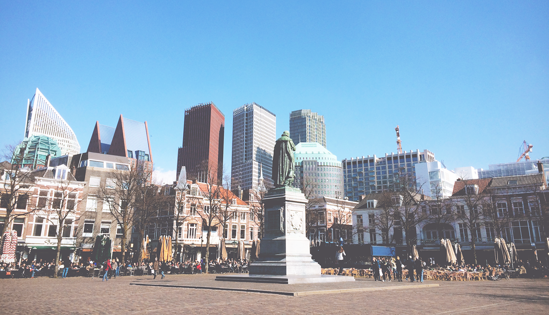 Het Plein square in The Hague (The Netherlands) | PR Guided Tours & Events